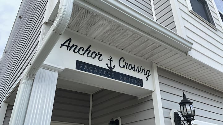 Anchor crossing upstairs