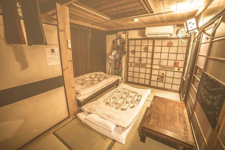 Handmade cozy Japanese room (No couples)