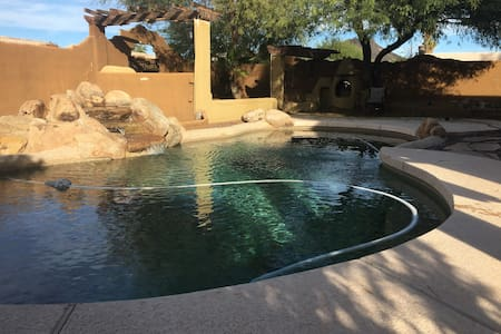 Serene private room in quiet N. PHX neighborhood - Glendale