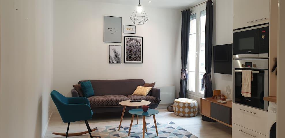 Cozy 2P Apartment | Front of line 1 Paris Center !