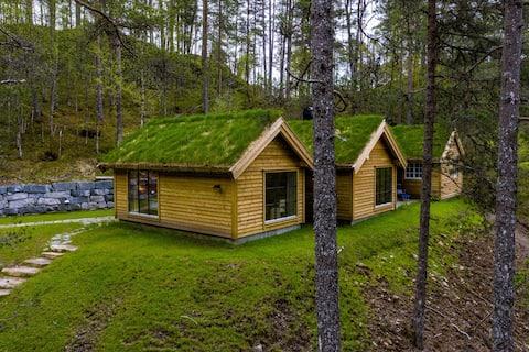 Velutsyrt hytte frå 2020/1850 ved Hestadfjorden