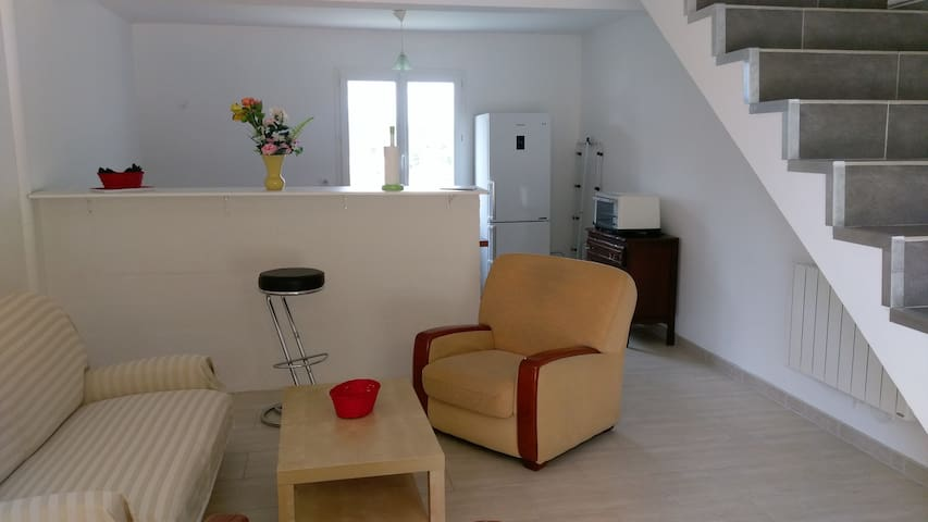 Bel appartement T2, 15 min de Montpellier