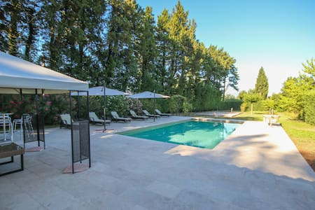 Direct Booking: Private Pool and Airconditioning in renovated Orangerie