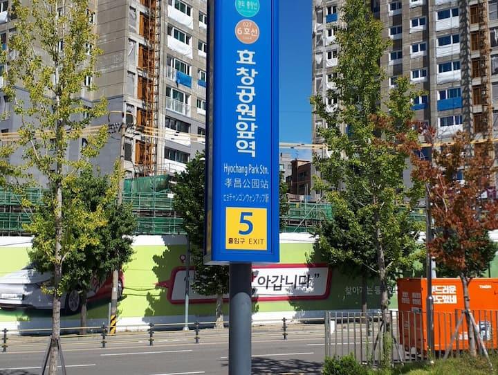 Backbumro 313, Youngsab gu, Seoul, Lottecastle