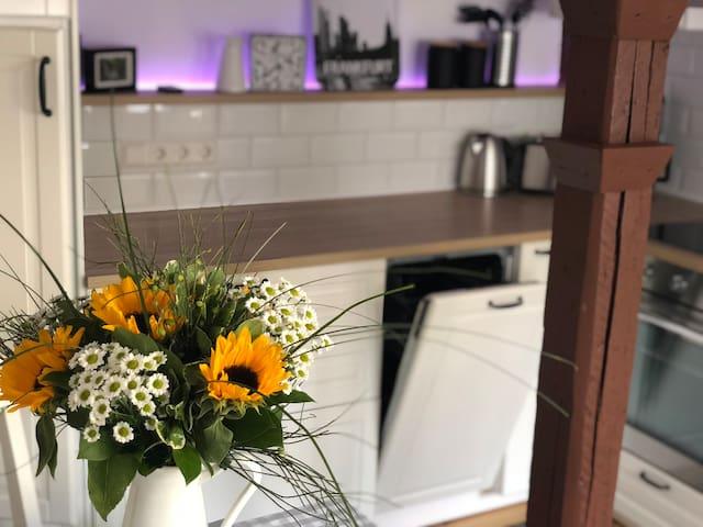 Voll ausgestattetes Apartment, ruhig und zentral