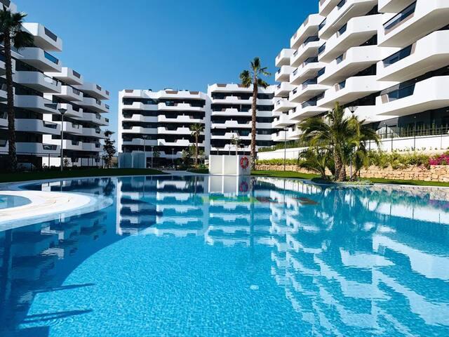 Sol Blanco Apartment in Arenales del Sol