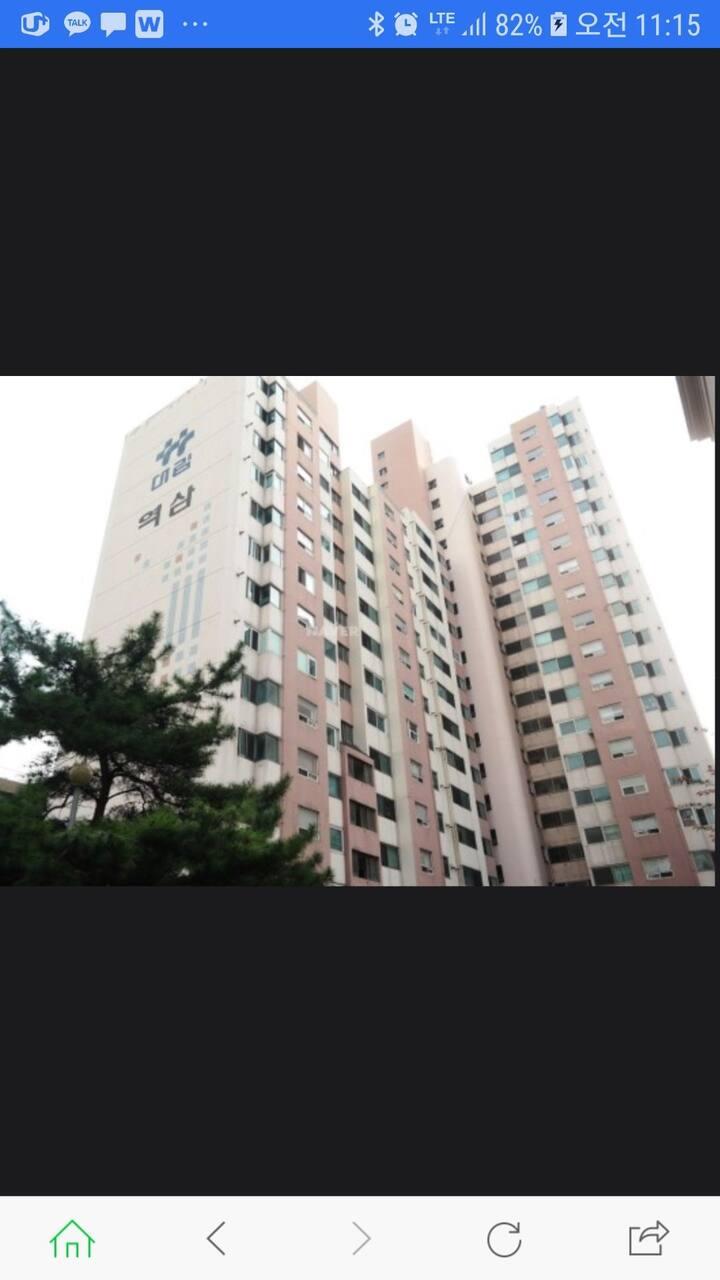 선릉역과 한티역 인근 아파트