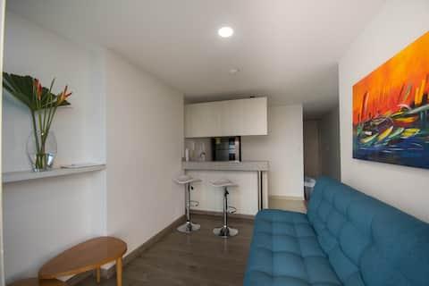 Apartamento con excelente vista y ubicacion
