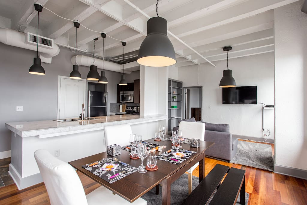 Your fully equipped Dining Space