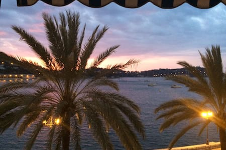 Beautiful 3 BR apartment with a magnifient view - Villefranche-sur-Mer - Condominium