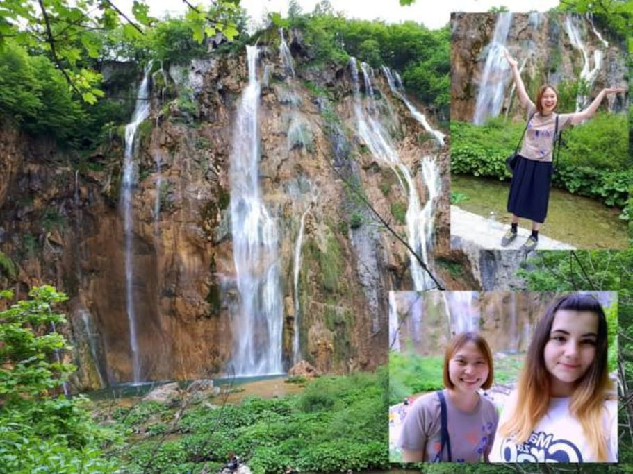 Plitvice Lakes (17km away from apartment)