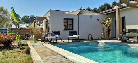 Guest House des ORTOLANS - Pool, Design & Confort!