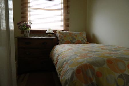 Single bed and Brecon homestay - Casa