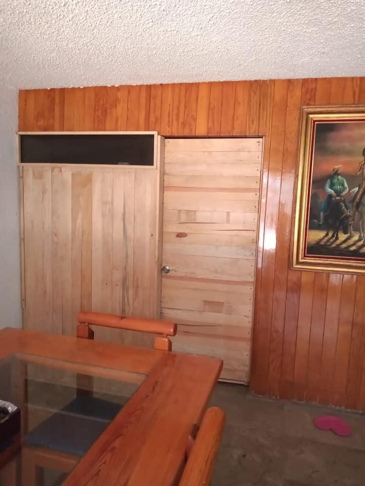 Habitación equipada sur CDMX