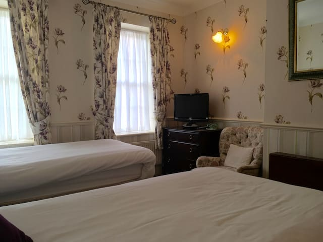 Private En-Suite Twin Room close to Stonehenge