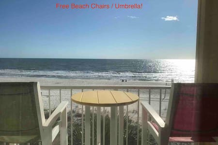 Gulf Getaway #314 With Balcony- Free Beach Chairs