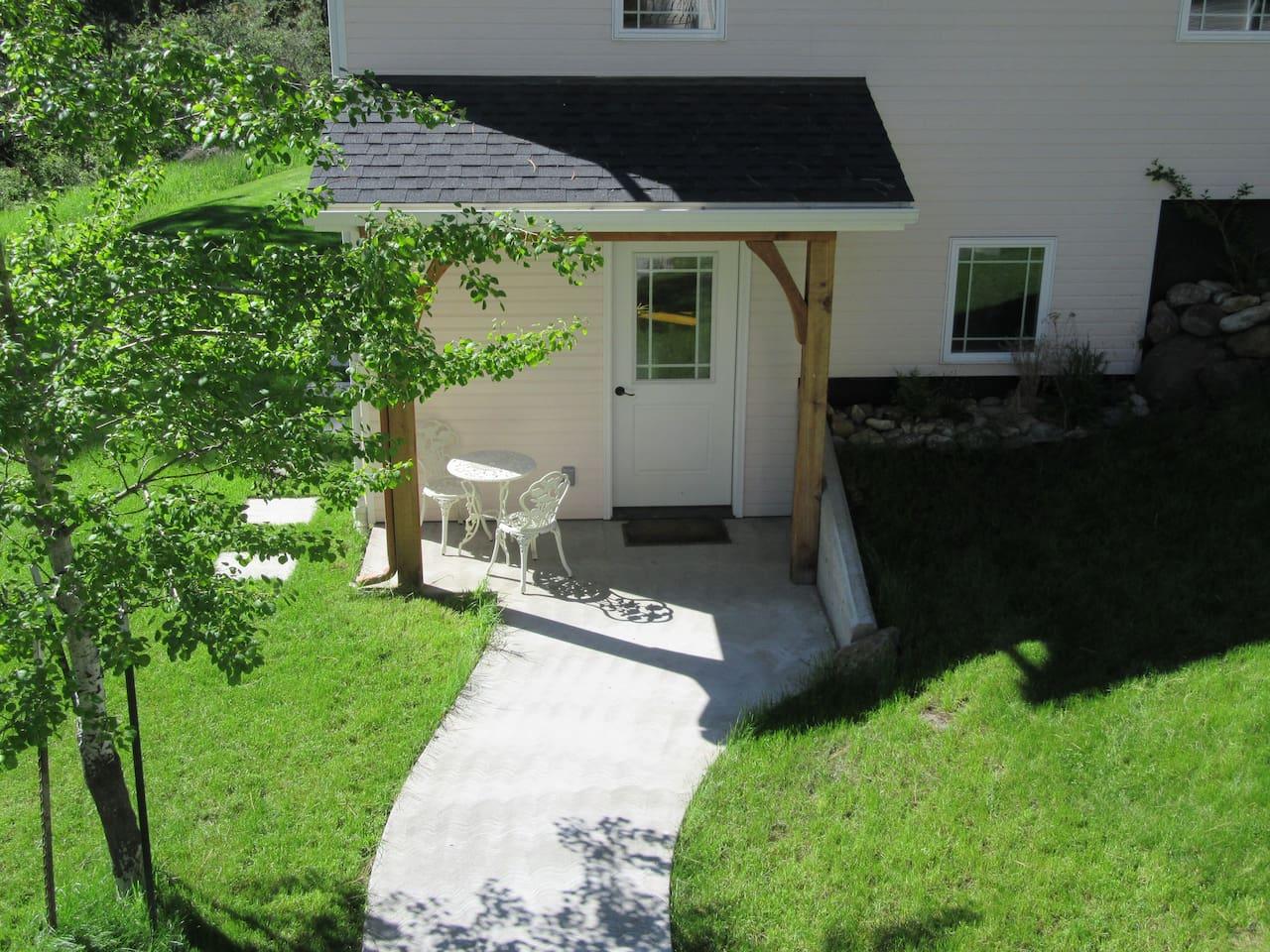 Guesthouse Porch