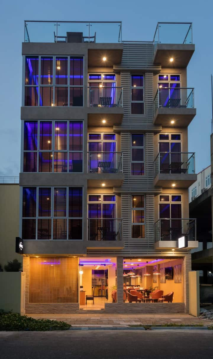 Hotel located at Hulhumale, with Sea View