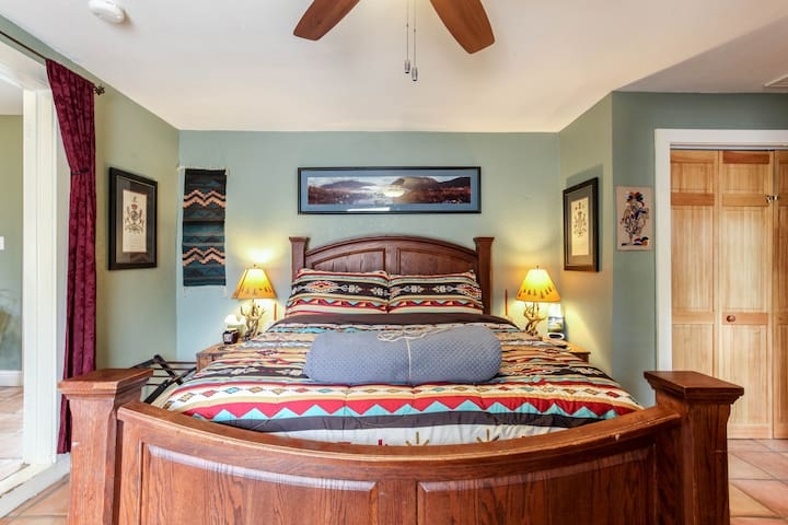Comfy Bedroom and bed