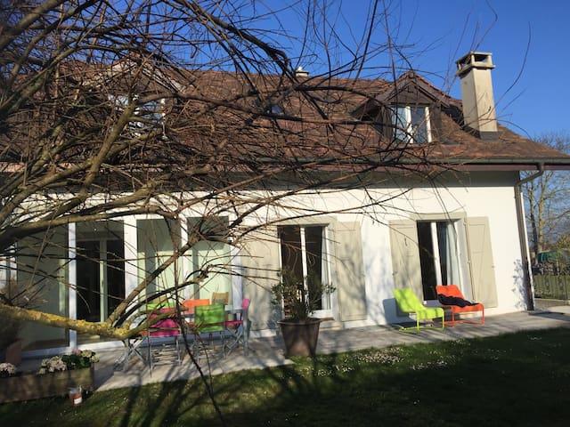 Maison calme aux portes de Genève - Commugny - Hus