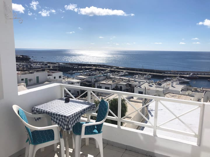 Studio with panoramic views in Puerto del Carmen