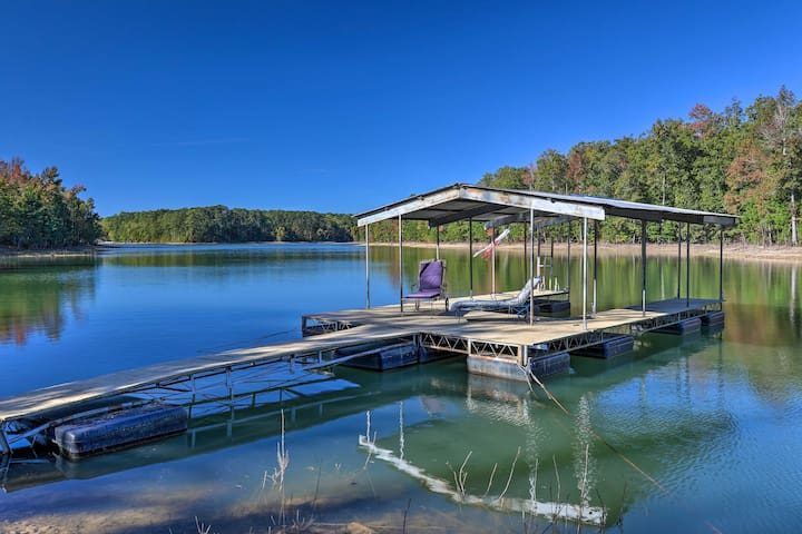Clarks Hill Lake Area Home w/ Pool & Private Dock!