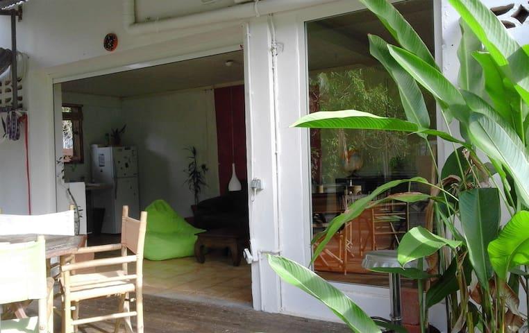 Loft / jardin à Montjoly (plage) - Cayenne - Loft-asunto