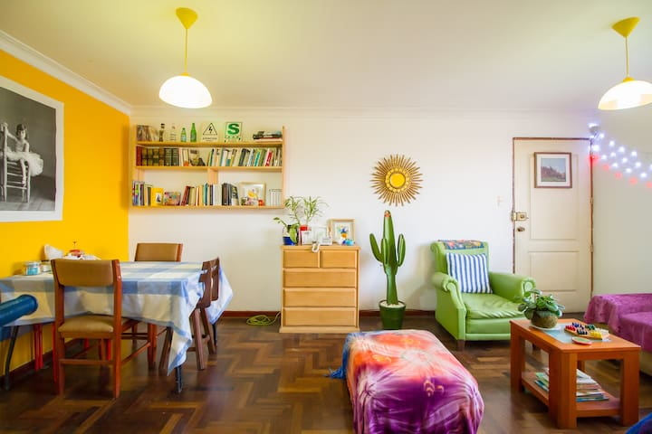 Cozy room, Nice apartment, Awesome roomies! #1 - Magdalena del Mar - Apartamento