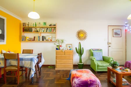 Cozy room , Nice apartment, Awesome roomies! - Magdalena del Mar