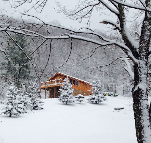 BirdTown Guesthouse/Cabin - Bakersville - Casa