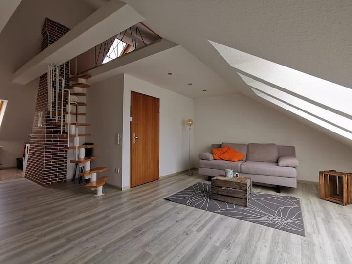 Gemütliche Dachwohnung nähe Pegnitzufer