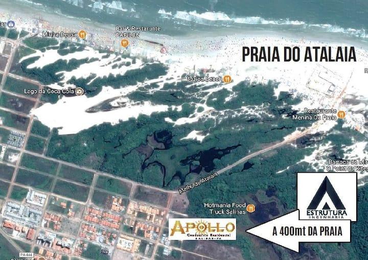 Apartamento mob  500 MT da praia do Atalaia-Pa