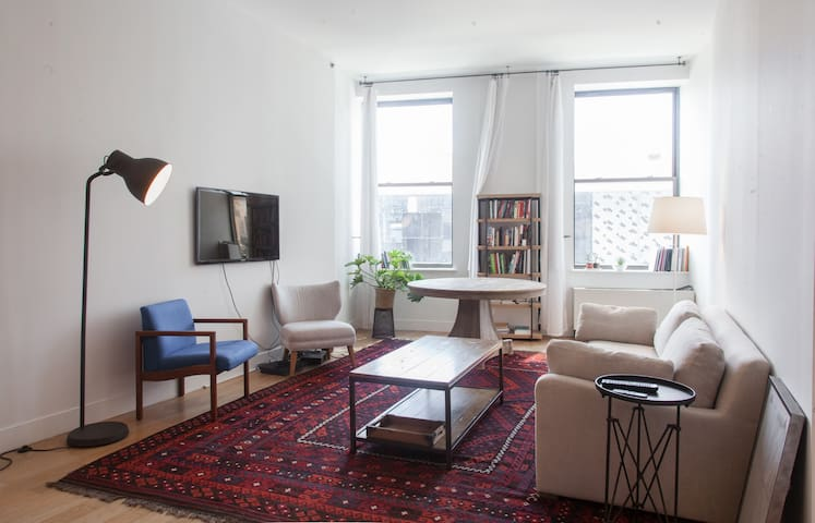 Spacious one bedroom in prime Fort Greene - New York - Condominio