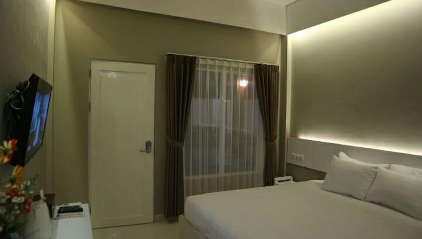 Sinom Borobudur Deluxe Double Room With Pool View