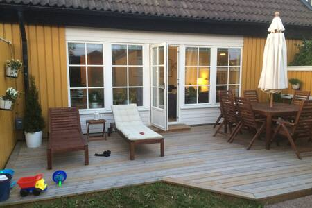 Cosy house, 15 minutes from central Stockholm - Täby