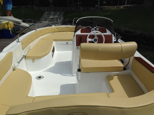 Boat Rental. No nautical driving Licence required. - Lecco - Barca