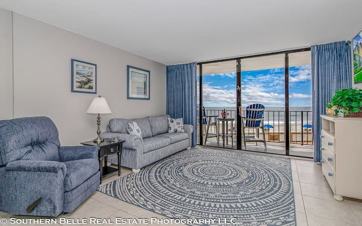 Garden City beach front condo, unit 107.