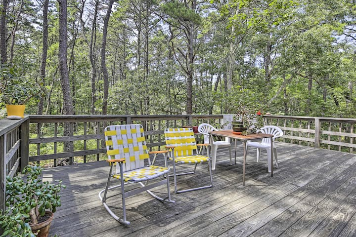 Enjoy the seclusion of this Wellfleet home!