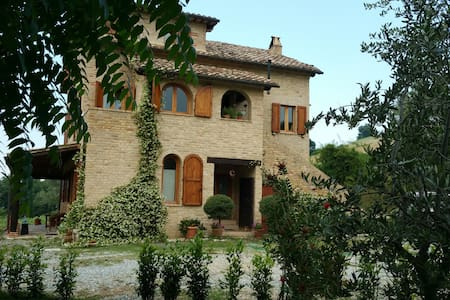 Bed and Breakfast in the woods - Montedinove - Oda + Kahvaltı