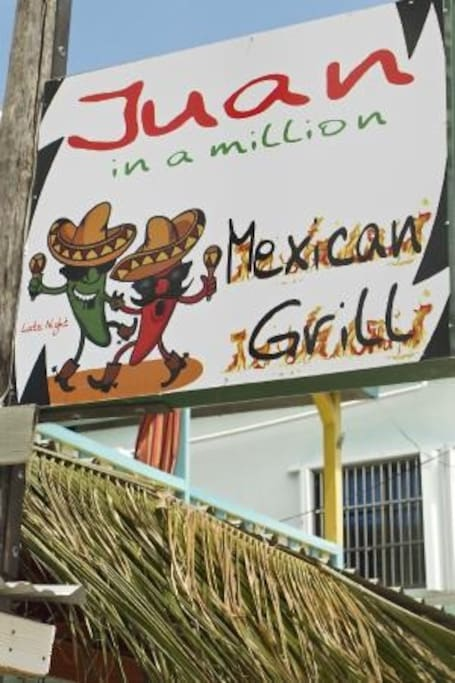 Located above and around Juan in a Million on Front street