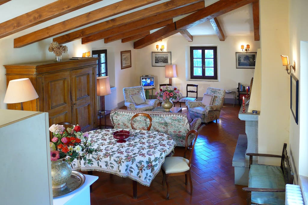 Granary living room