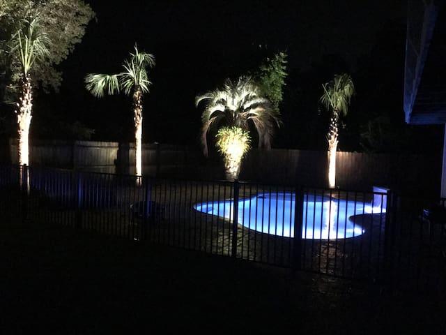 Private  RV/Camper site with a private pool