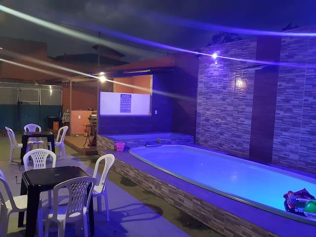 Casa  Praia  c/Piscina