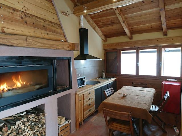 Chalet Morier suite con cucina