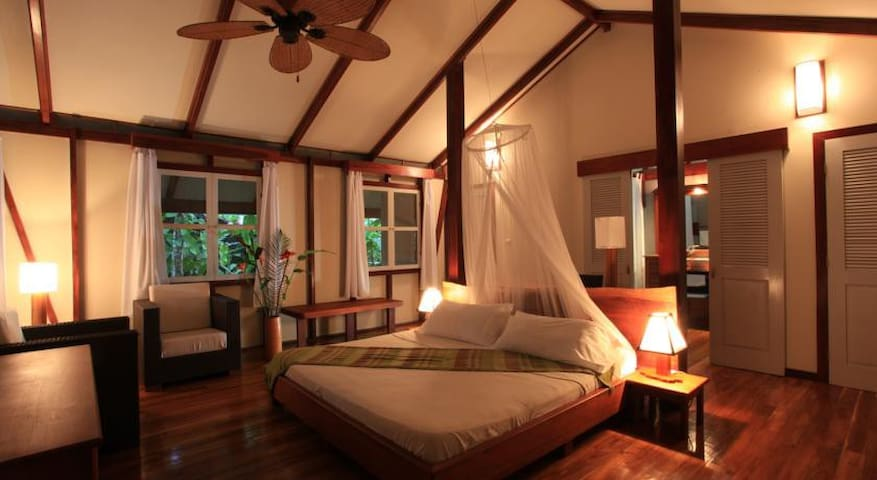 Luxury Bungalow in the Jungle steps from Beach - Puerto Viejo de Talamanca - Bed & Breakfast