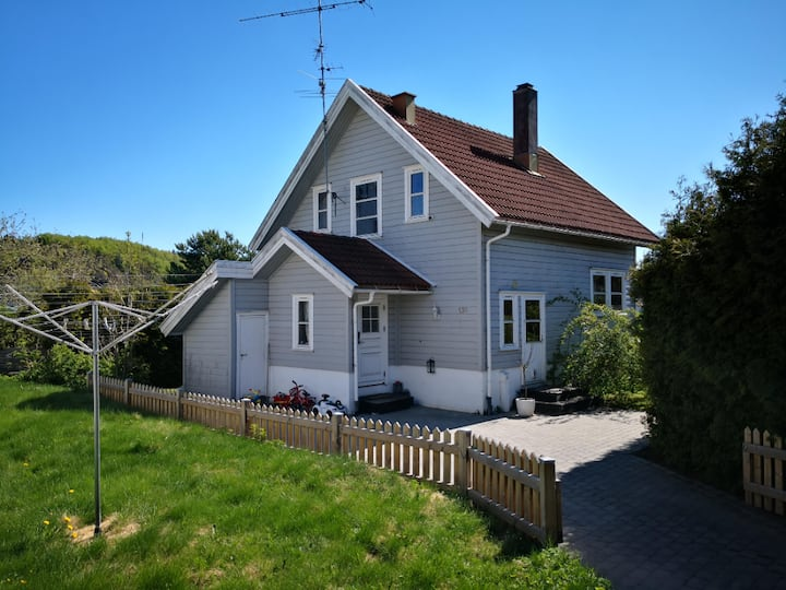 Cozy house near Sandefjord centrum airport 2 rooms