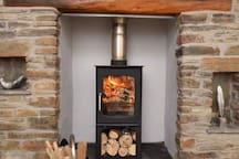 When the nights turn chilly, cuddle up in front of a cosy log fire