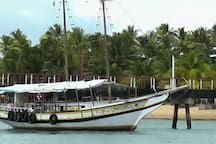 Boat tours in Itacaré or Barra Grande on the Marau Peninsula.