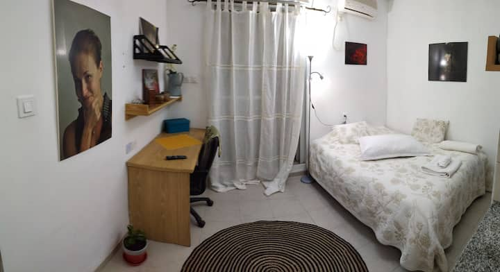 Cozy apartment near the Technion  מקבלים לבידוד
