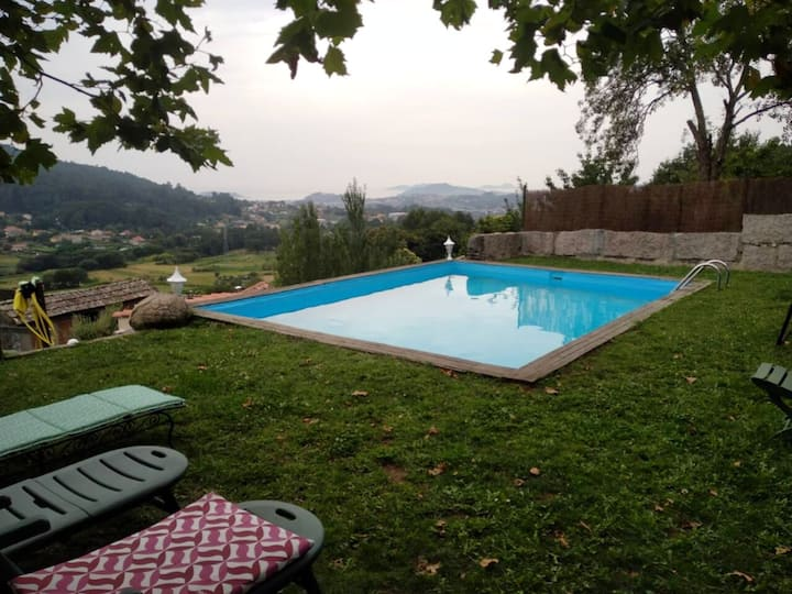 Property with 5 bedrooms in Nande, with shared pool and WiFi - 5 km from the beach